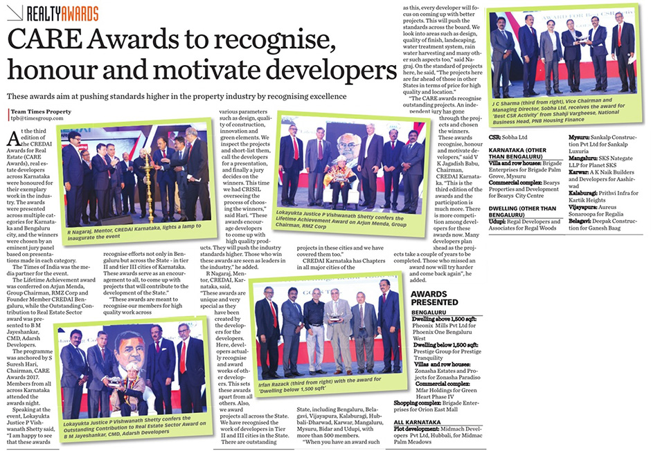CARE Awards to recognise, honour and motivate developers