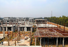 Adarsh Palm Acres Construction