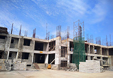 Adarsh Palm Retreat - Lakefront Construction