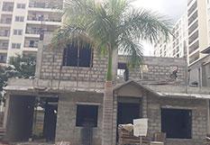 Adarsh Palm Retreat Villas Construction