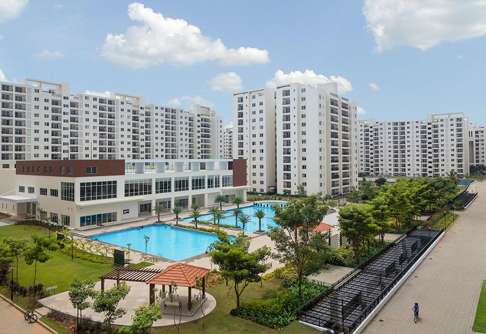 Adarsh Palm Retreat Condominiums | Premium Apartments ...